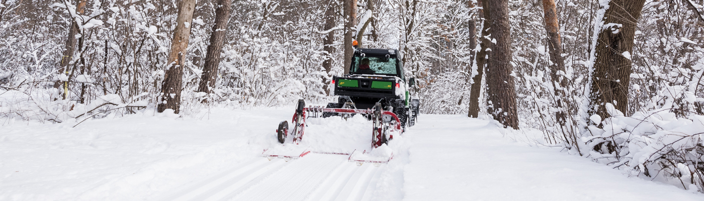 Vadnais-Sucker Lakes cross-country ski trail