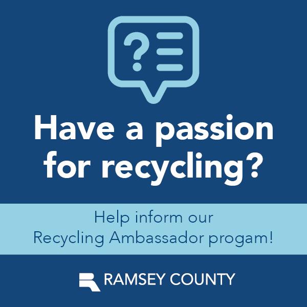 Help inform our Recycling Ambassador program