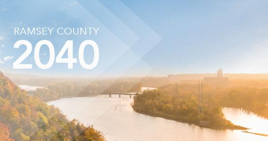 Ramsey County 2040 Header Image