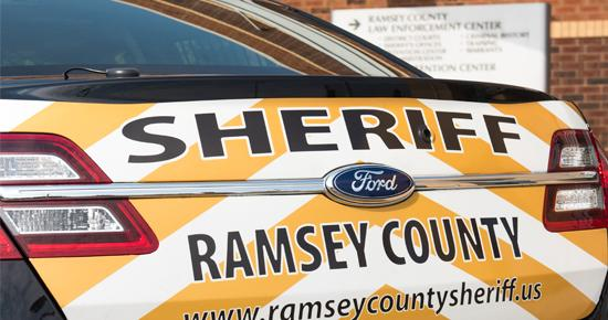 Ramsey County Sheriff squad car